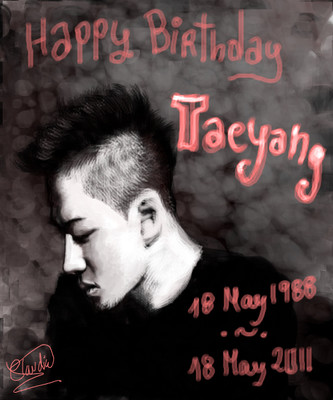 Feliz cumple Taeyang! by darkcla
