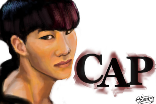 Happy b-day CAP! (teentop) by darkcla