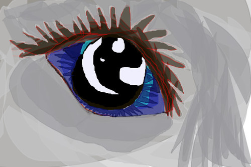 Creepy eye by Firestar