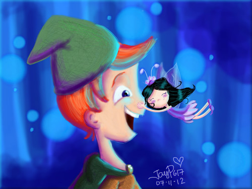 Phineas and Isabel the Water Sprite by JayP617