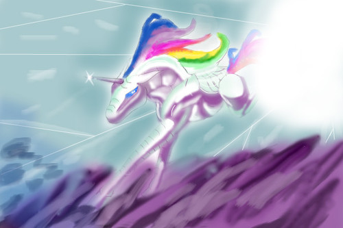 robot unicorn attack by tigz98