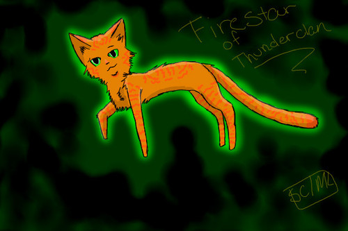 Firestar of Thunderclan by Scarclaw11