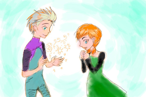 Speed Elson and Anna 1 by darkcla