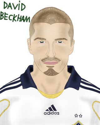 david beckham by rrichboy