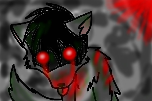 Zombie Wolf     a horror drawing by AwesomeGaaraZombie Wolf Drawing