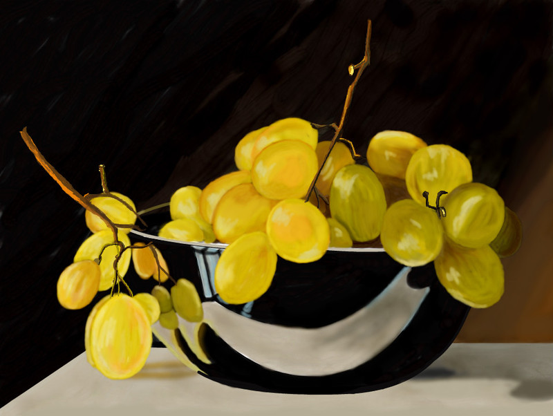 yellow-grapes