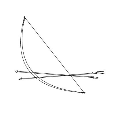 bow--arrow