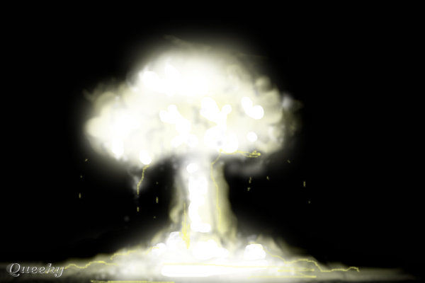 nuke  u2190 an abstract speedpaint drawing by romanticom - queeky