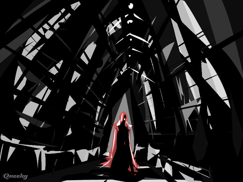 The Masque Of The Red Death An Abstract Speedpaint Drawing By Raz