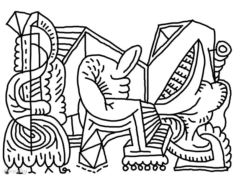 s abstract coloring pages - photo #13