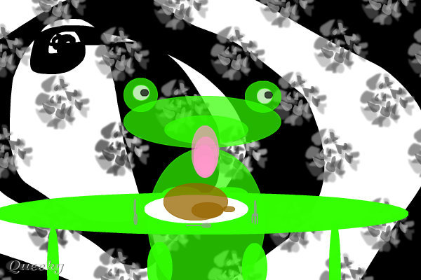 Grenouille carnivore ← an animals Speedpaint drawing by ...