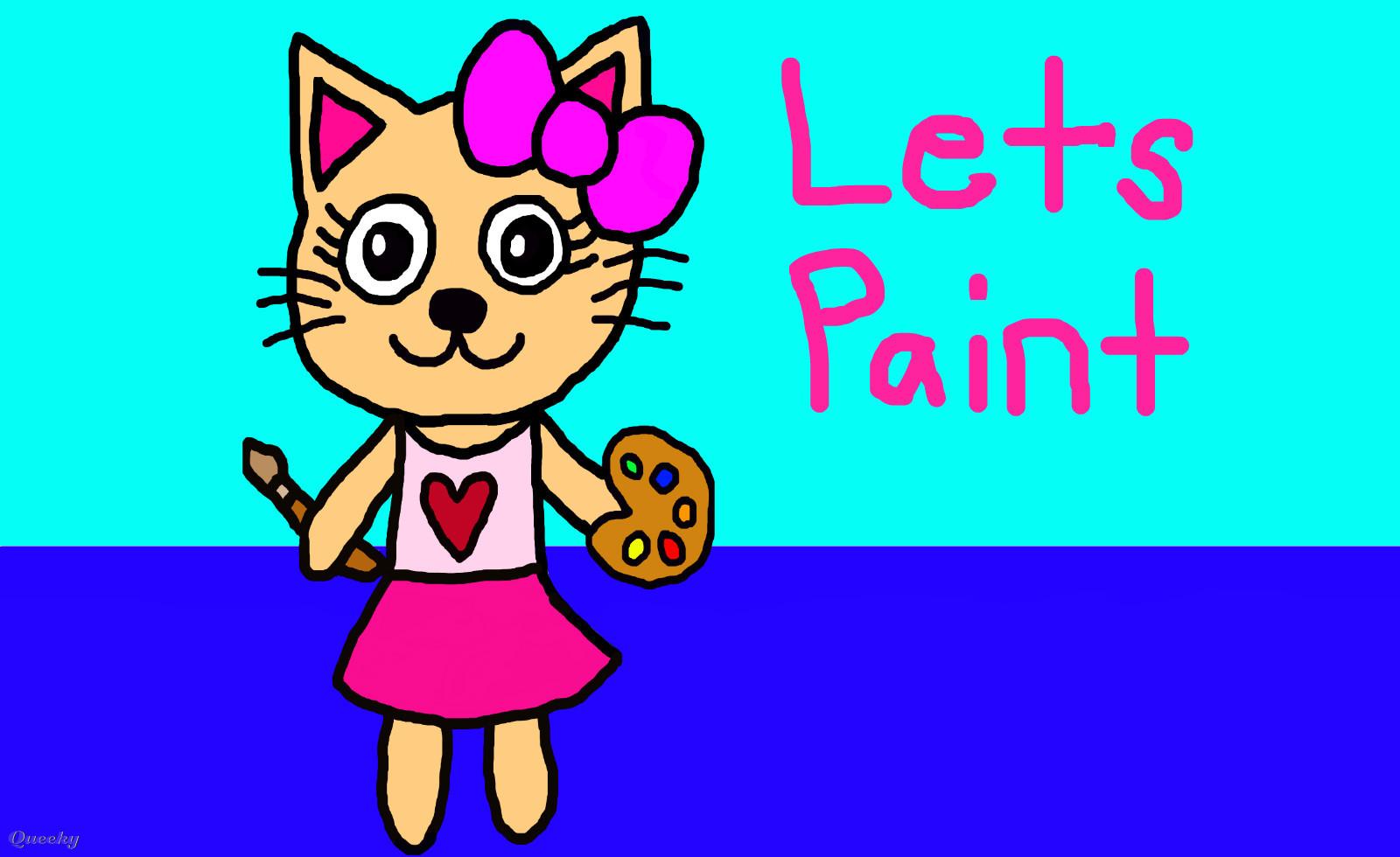 lets paint  u2190 an animals speedpaint drawing by teresa2011