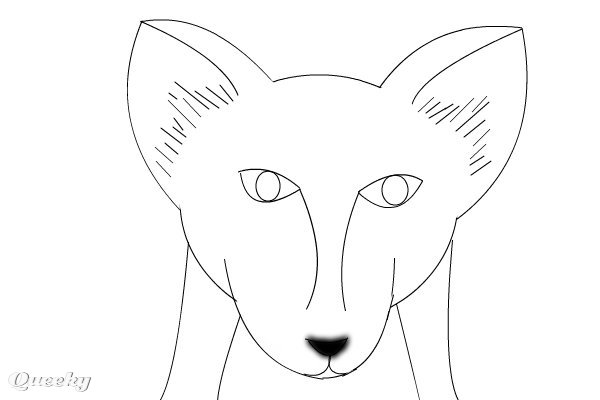 Red Fox An Animals Speedpaint Drawing By Smileygal3 Queeky
