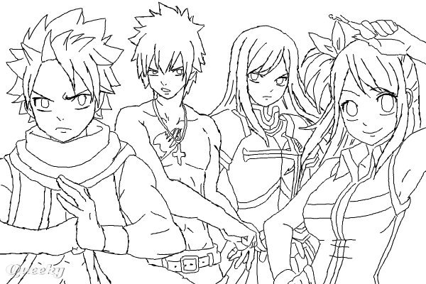 Volwassen Kleurplaat Wolf Fairy Tail Wip An Anime Speedpaint Drawing By Xaciel