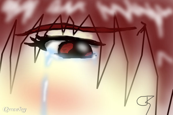How To Draw Anime Eyes Crying