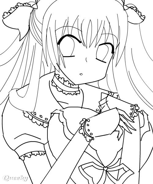 lineart color if you want  3  u2190 an anime speedpaint drawing