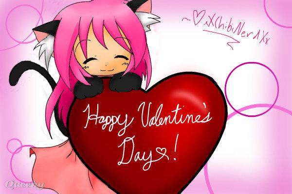 Happy valentine 39 s day an anime speedpaint drawing by - Happy valentines day anime ...