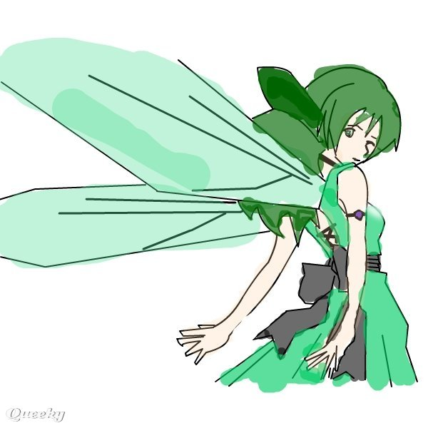 Pretty Fairy Drawing My pretty fairy ← an anime
