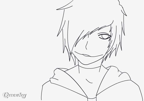 My Creepypasta An Anime Speedpaint Drawing By