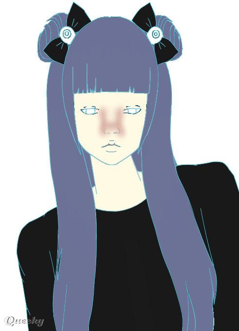 Imvu ← an anime Speedpaint drawing by Adrienthegoth - Queeky - draw
