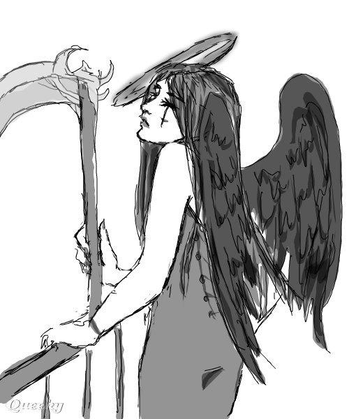dark angel � an anime speedpaint drawing by stasianime