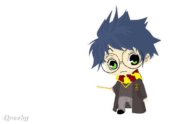 Harry Potter ← an anime Speedpaint drawing by Kathilyssa - Queeky ...