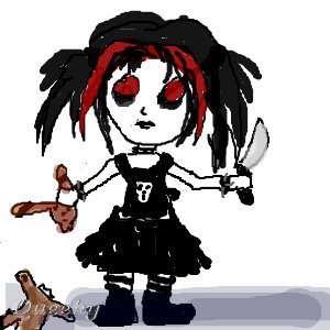 Bad Girl U2190 An Anime Speedpaint Drawing By Blutrose - Queeky - Draw U0026 Paint