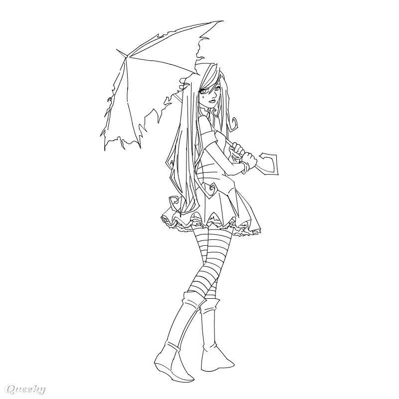 Color anime girl ← a