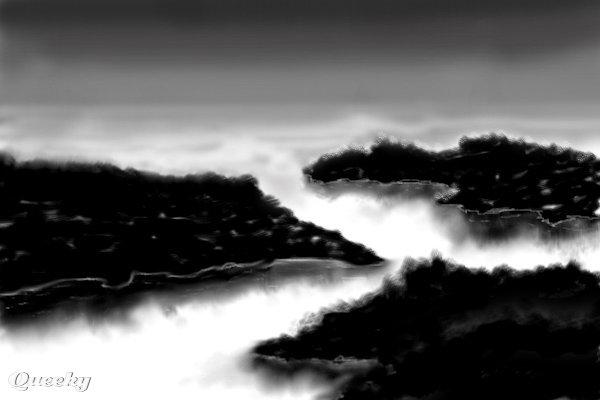 dark islands  u2190 a black