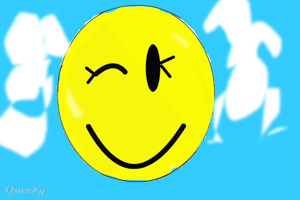 wink smiley animated