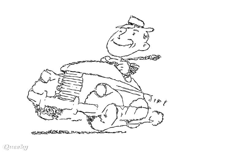 Car Driver A Cartoons Speedpaint Drawing By Nsplz