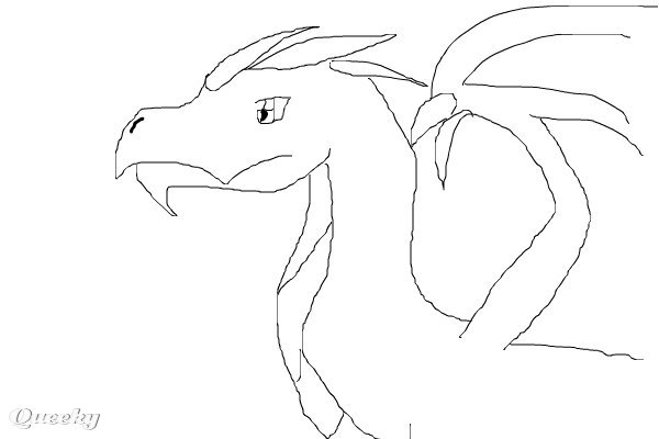 Dragon Template ← a cartoons Speedpaint drawing by Tamway117 ...
