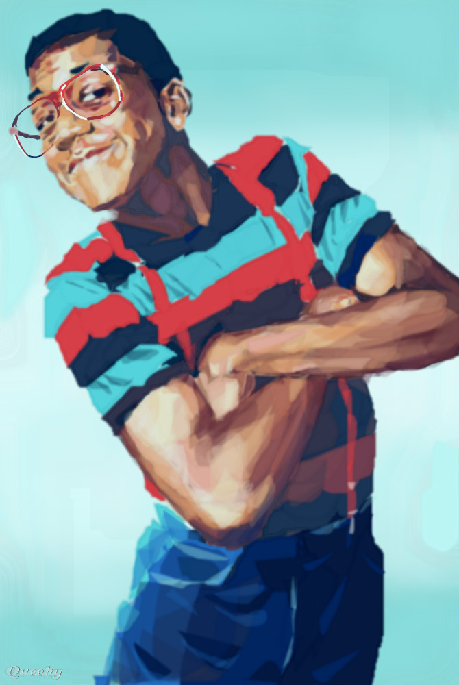 how to draw steve urkel