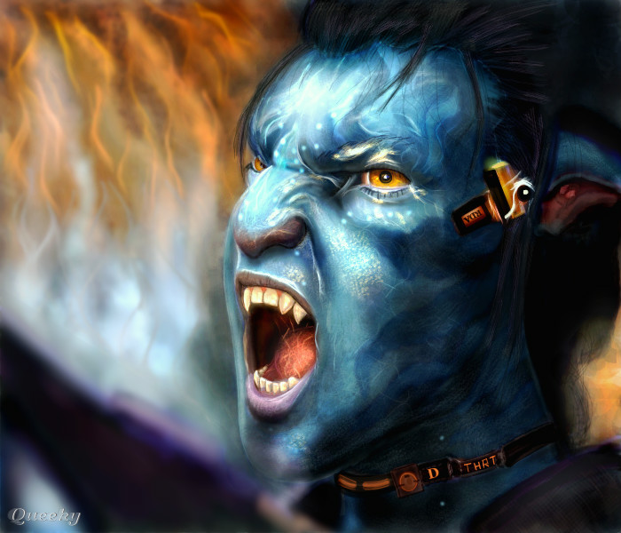 Jake Sully Avatar 2: Jake Sully ... ← A Character Speedpaint Drawing By