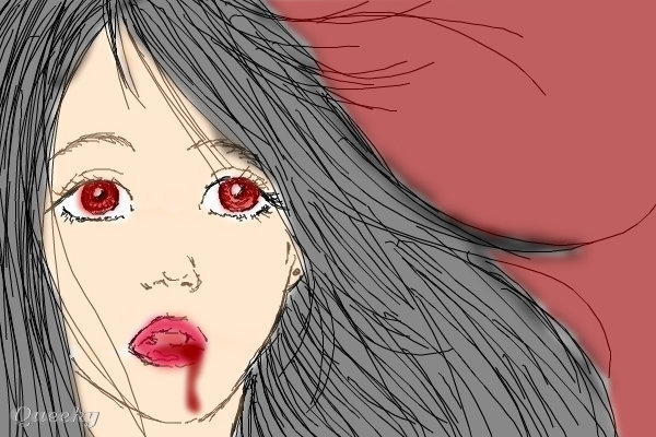 Girl Vampire Drawings Image Url