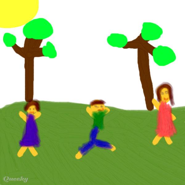 Kids Park Drawing Image Url