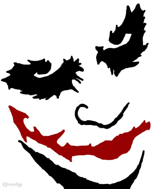 Joker A Creepy Speedpaint Drawing By Bethkross666