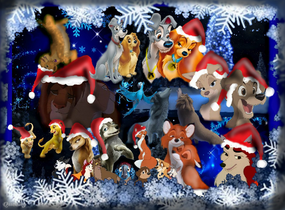 Marry christmas from animated movies