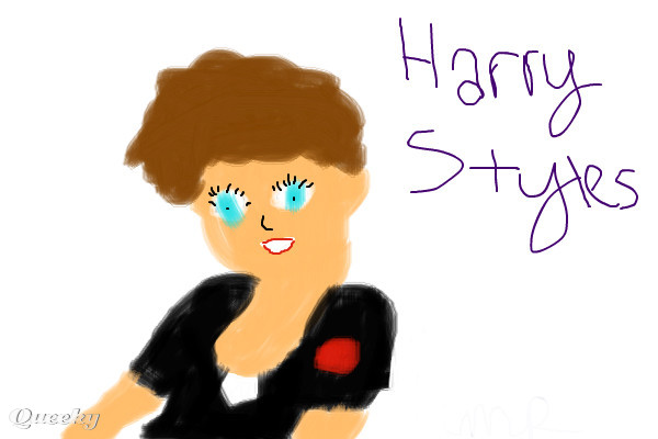 Bad Pic of Harry Styles ← a fan-art Speedpaint drawing by ...