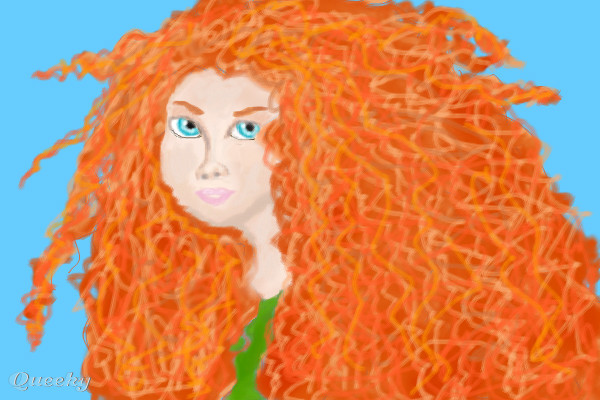 Brave Merida A Fan Art Speedpaint Drawing By Jazzy82