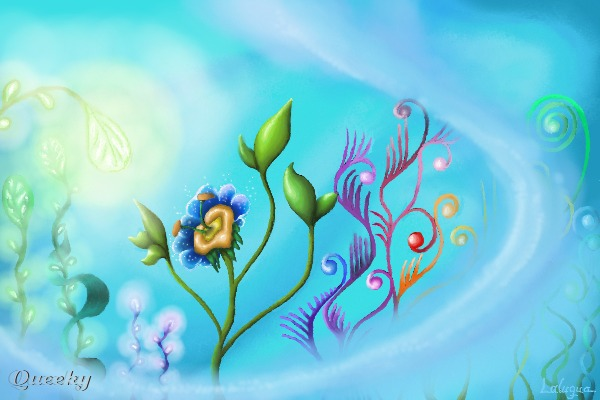 Wasserblume A Fantasy Speedpaint Drawing By Laluqua Queeky