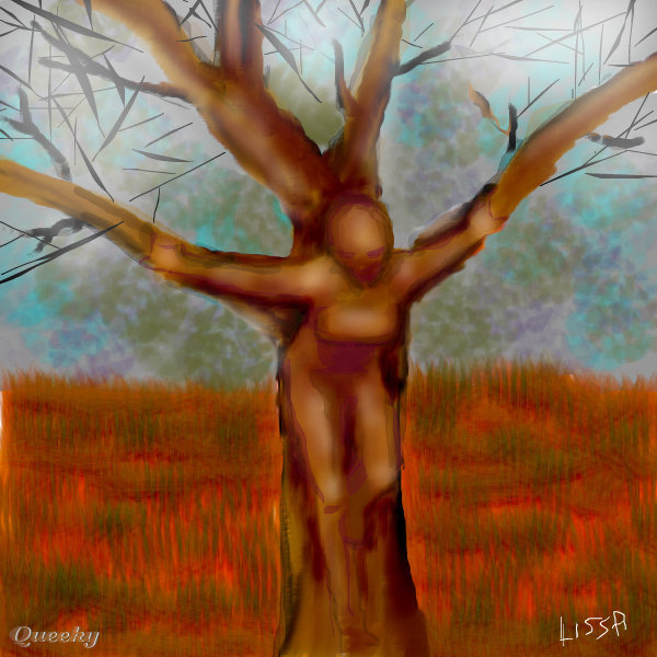 Tree People A Fantasy Speedpaint Drawing By Daq Queeky