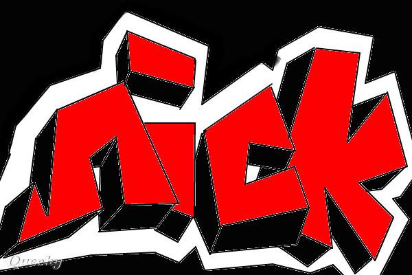 nick  u2190 a graffiti speedpaint drawing by setme100
