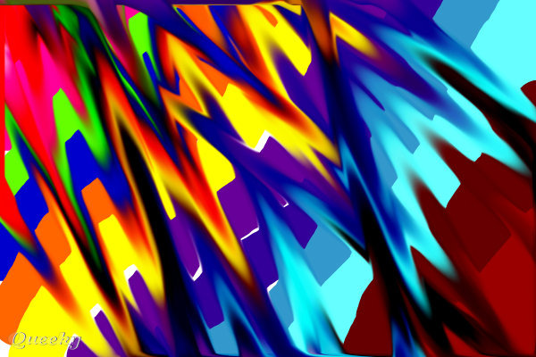 Crazy Colors A Graffiti Speedpaint Drawing By