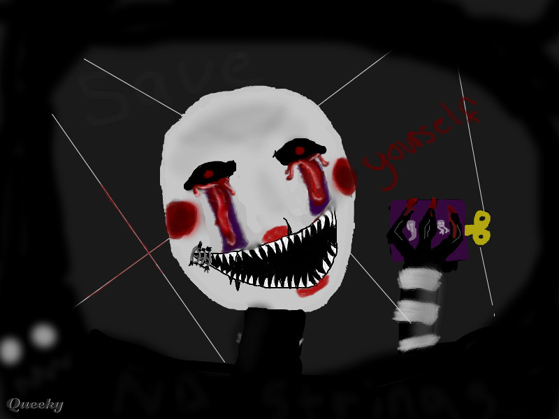 Nightmare Puppet Final A Horror Speedpaint Drawing By