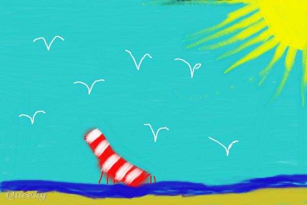 My Dream Vacation A Landscape Speedpaint Drawing By Mileymaddy11