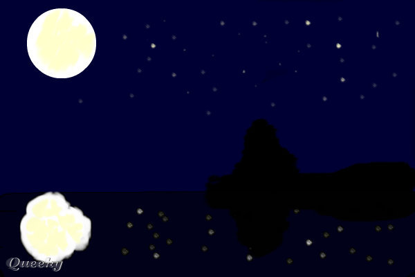 How To Draw Night Scene