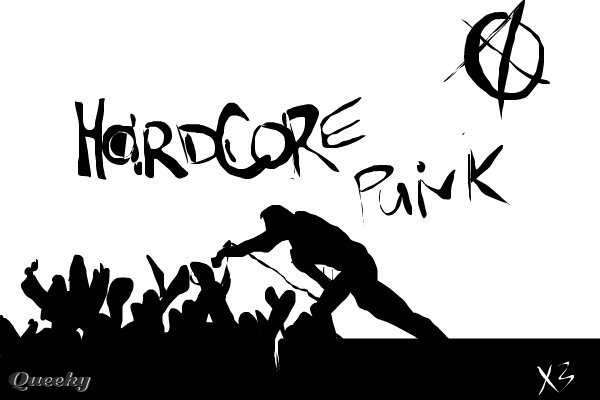 hardcore and punk music