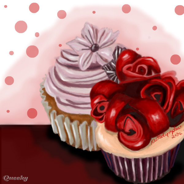 Artist Who Draws Cake : Cuppy Cakes ? a objects Speedpaint drawing by Kutedymples ...