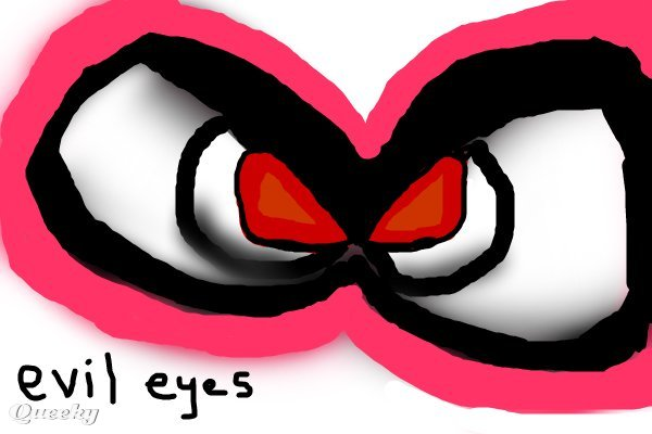 Evil eyes ← a objects drawing by Kayyal . Queeky - draw online! - page 6